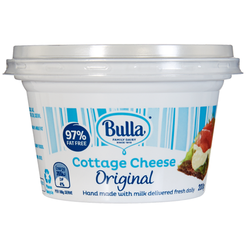 Bulla Cotage Cheese Plain 200 Gr