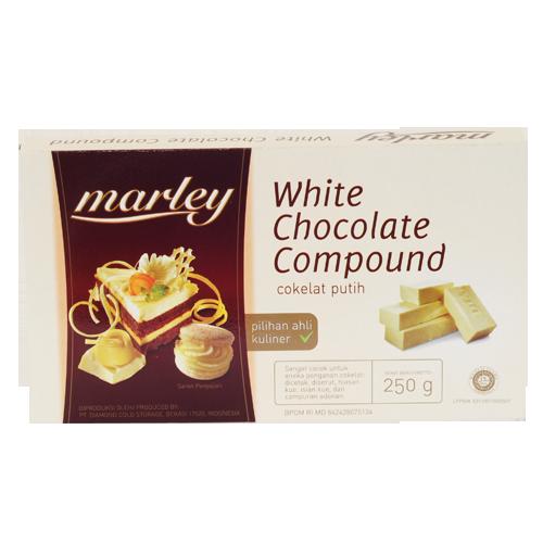 Marley Dark Chocolate Compound 250 Gr Sukanda Djaya